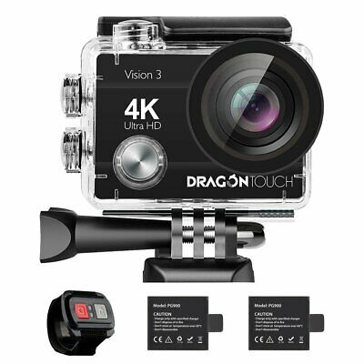 Action Camera Underwater Waterproof Cam Wide Angle WiFi Sports Accessories Kit