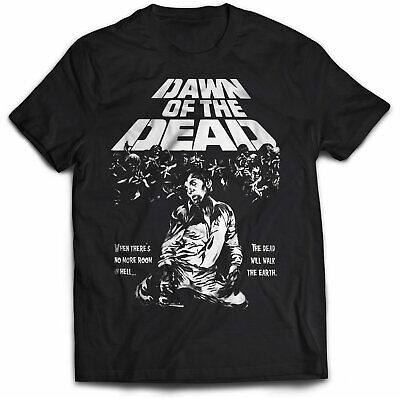Dawn Of The Dead Zombie T-Shirt Horror romero