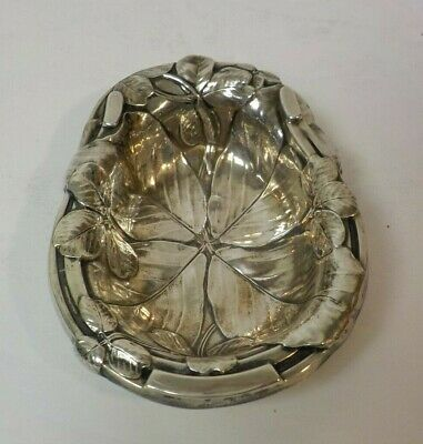 """Reed & Barton Sterling Silver Horseshoe Good Luck 3.25"""" Nut Dish #H44, 25 grams"""
