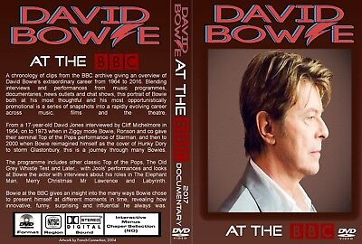 David Bowie. At The Bbc. 2017 Documentary. Dvd.