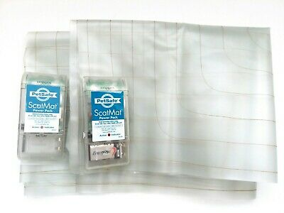 x2 Genuine Pet Safe Scat Mats for Counters and Couches | Pet Repellent | Tested