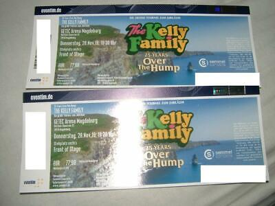 2 Tickets The Kelly Family 28.11.2019 Magdeburg FOS rechts