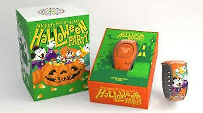 Disney Parks Mickey's Not-So-Scary Halloween Party  Magicband 2017 LE 4000