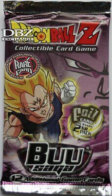 DragonBall Z Buu Saga Factory Sealed Unlimited Booster Pack 2003 TCG CCG Score