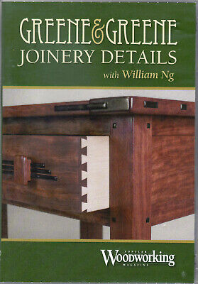 Greene and Greene Joinery Details DVD