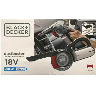 Black & Decker Dustbuster 18V Cordless Car Vacuum PV1820LAVC-GB