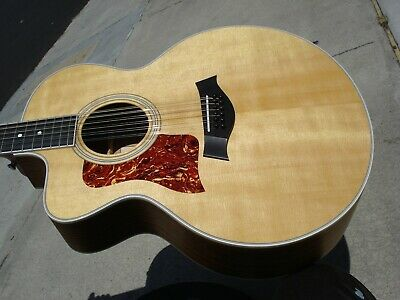 Taylor 455CE 12 String Left Handed Lefty Acoustic Electric Guitar - Near MINT