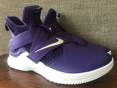 best service e44dc 33d64 NIKE ID LEBRON Soldier XII 12 Los Angeles Lakers Men's Size ...