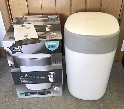 "Tommee Tippee ""Twist & Click"" Nappy Disposal System & Refill - Baby Shower Gift"