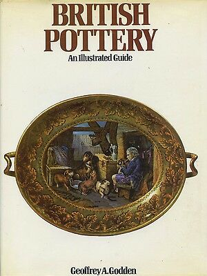Antique British Pottery - Types Makers Marks Dates / Scarce In-Depth Book