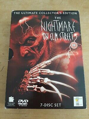 The Nightmare On Elm Street Collection 7-Disc Set - Free Postage