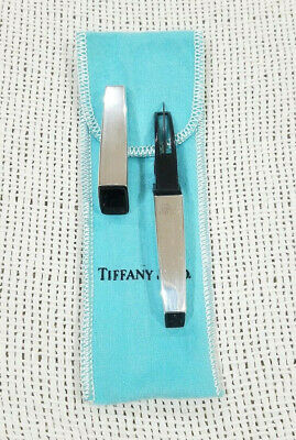 Vintage 1950's Tiffany & Co Sterling Silver Seam Ripper W/pouch Sewing Tool