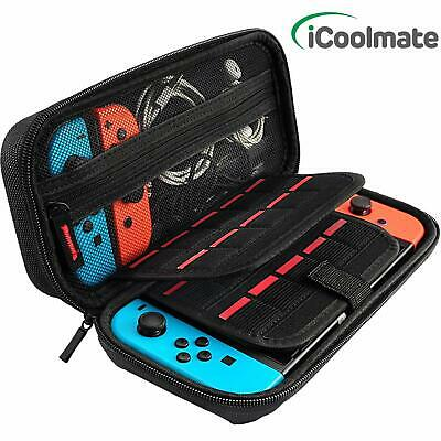 Nintendo Switch Case, CACACOL Hard Shell Game Traveler Travel Carrying Box Case