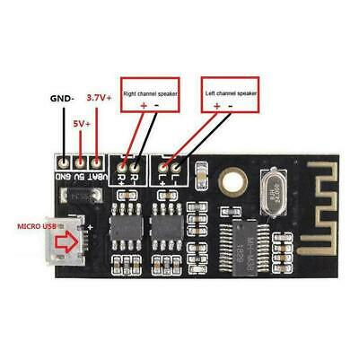 Stereo Output Bluetooth Audio Module Universal Module Receiver Amplifier Sp G0H3
