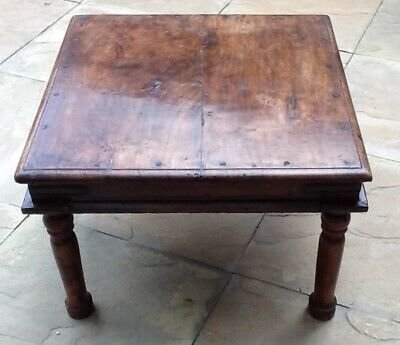 Antique (19th Century) Prayer / Coffee Table from Rajasthan