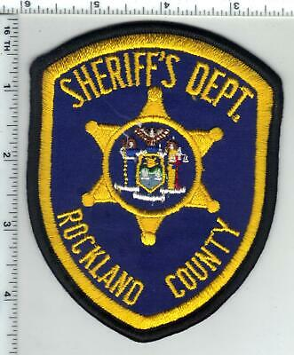 ONONDAGA COUNTY SHERIFF'S Dept (New York) 4th Issue Shoulder