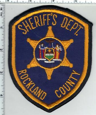 Rockland County Sheriff's Dept (New York) 3rd Issue Shoulder Patch