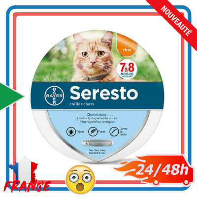 Collier antiparasitaire pour Chats Seresto Bayer