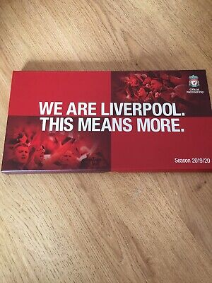 Liverpool Football Club Membership Box Limited 2019/2020 Season Champions League