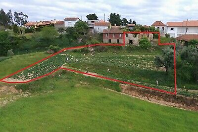 Get EU Residency Before Brexit! Ruin and building plot in Central Portugal