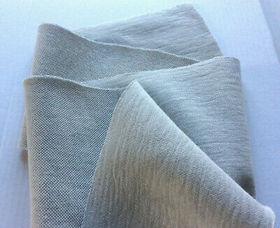 LIGHT GREY PURE COTTON REVESABLE DOUBLE JERSEY MADE IN ITALY FOR HUGO BOSS SD229