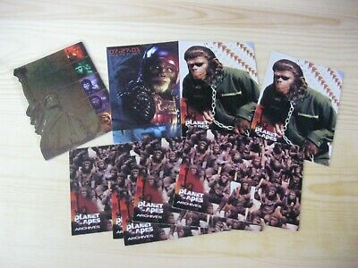 Inkworks Planet Of The Apes Foil Job Lot Of Odds Trading Chase Cards Nm/Mt