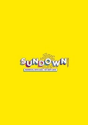 2 Sundown Festival Weekend Camping Tickets - 30 August to 1st September 2019.