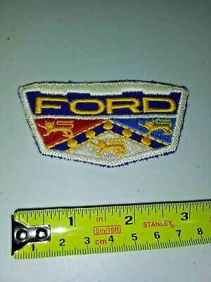 VINTAGE Embroidered Automotive Gasoline Patch UNUSED - FORD medium