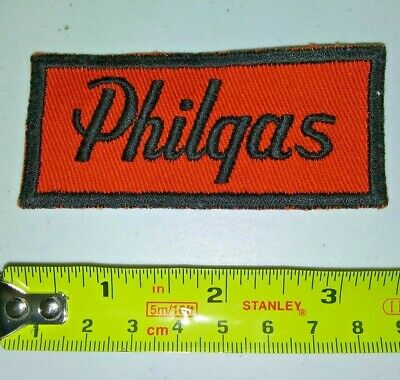 VINTAGE Embroidered Automotive Gasoline Patch UNUSED - PHILGAS