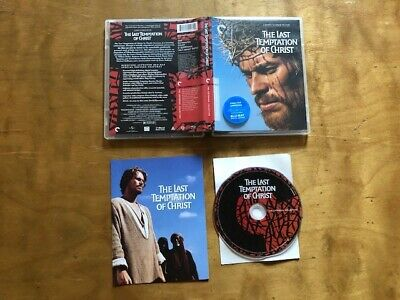 The Last Temptation Of Christ Blu ray*Criterion Collection*Martin Scorsese*