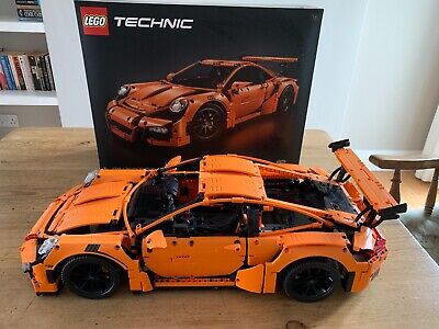 Lego Technic Porsche 911 Gt3 Rs 42056 Built Completed With