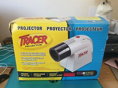 Artograph Tracer Projector Boxed Full Working Order 2X -14X