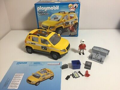 Playmobil Project Supervisors Car 5470