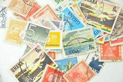 Mixed Postage Stamps - 5g bags