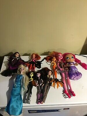 monster high ever after high used doll lot