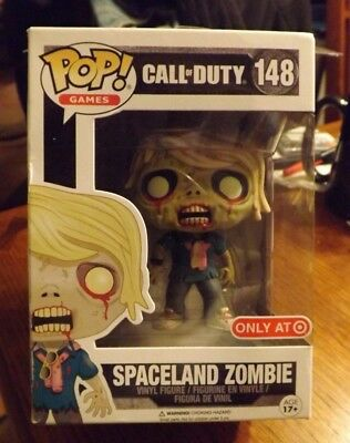 Funko POP! Games Call of Duty SPACELAND ZOMBIE #148 Target Exclusive