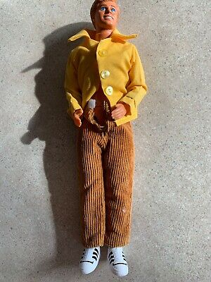 Barbie Ken Doll 1968 Malaysia with Yellow Outfit