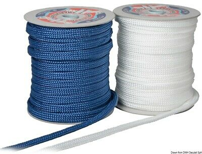 Osculati strap for fender fastening blue 14 mm x 50 m