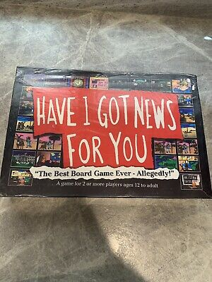 HAVE I GOT NEW FOR YOU - 2005 board game of the TV show - NEW & SEALED