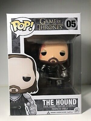 Funko Pop! Game Of Thrones The Hound #05 Vaulted W/ Protector AUTHENTIC!