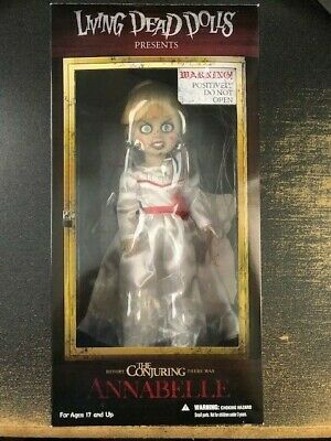 """Mezco Living Dead Dolls The Conjuring """"Annabelle"""" Collectors Doll RARE!"""
