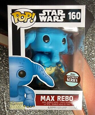 Funko Pop Max Rebo Starwars Vaulted !!! Mint Nib Exclusive Specialty Series