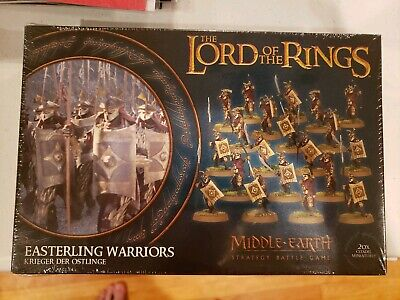 Lord Of The Rings Easterling Warriors Games Workshop