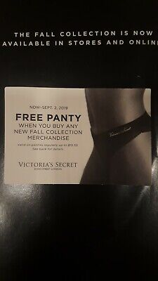 Coupon Victoria's Secret panty up to $19.50 clothing bra Victoria Victorias