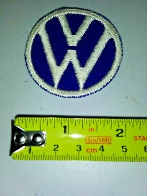 VINTAGE Embroidered Automotive Gasoline Patch UNUSED - VW
