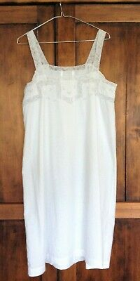 Antique French chemise/ petticoat, probably made for a trousseau