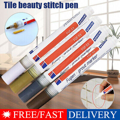 Tile Grout Coating Marker Home Wall Floor Tiles Gaps Professional Repair Pen IL