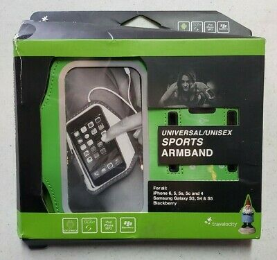 Travelocity Universal/Unisex Sports Armband for iPhone Galaxy Blackberry