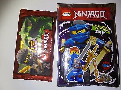 Lego 891946 Ninjago Minifigur Jay Limited Edition Neu//ungeöffnet//New//Sealed