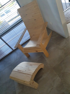 Hand crafted chair
